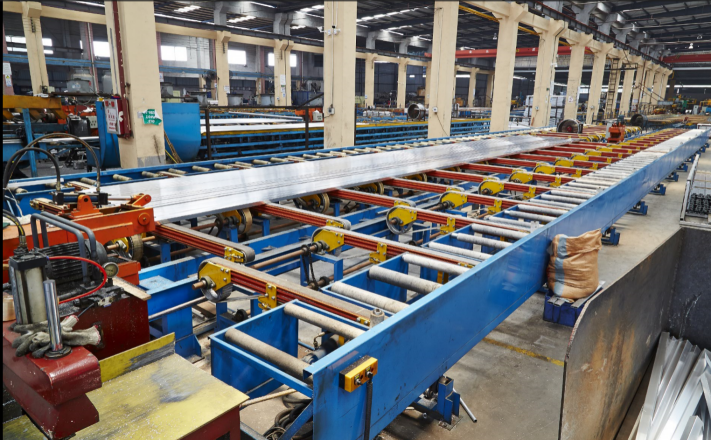 Belt Type Handling Table for Extrusion Line