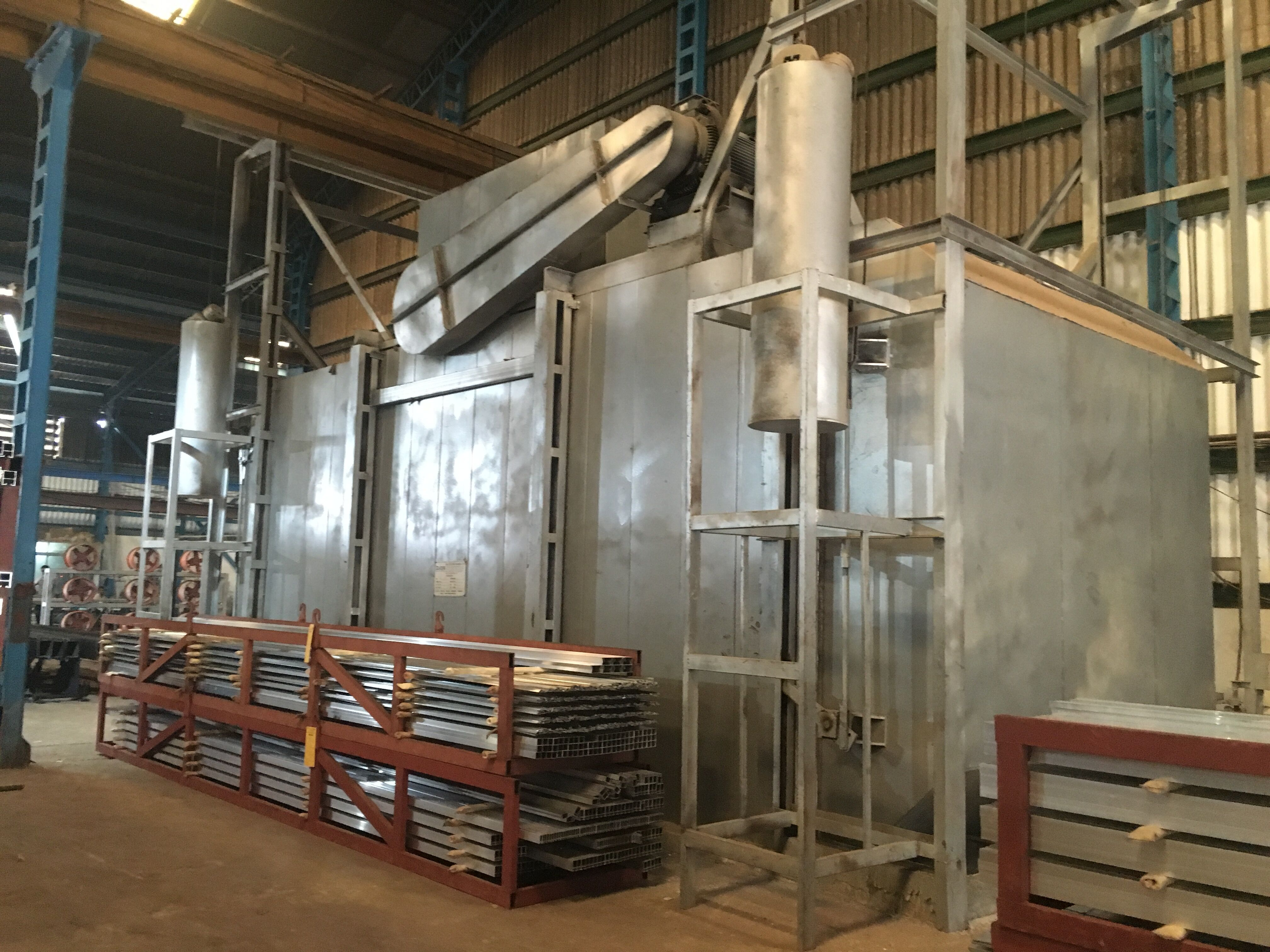 9 Baskets Aging Furnace for Extrusion Aluminum Profile